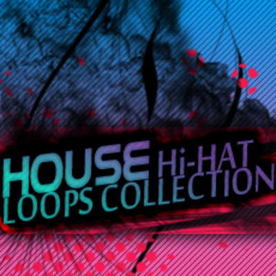 Product picture HOUSE Hi-HAT LOOPS Samples Hip Hop Drum Sound Loops Beats  *