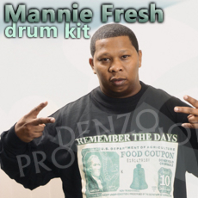 Product picture MANNIE FRESH samples LIBRARY wav MPC drum kit *download*